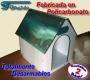 Cuchas para perros desarmables en policarbonato