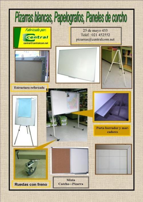 Fotos de Paraguay: venta de pizarras acrilicas blancas, magneticas, franelografos, rotafo 1