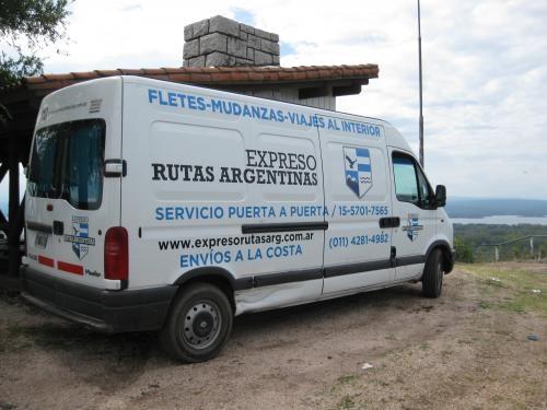 Fletes, mudanzas, viajes al interior. expreso rutas argentinas