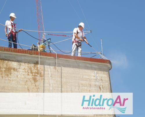 Hidroar hidrolavado de tejas, frentes, pisos