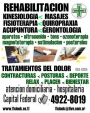 KINESIOLOGIA 4922-8019  FISIOTERAPIA TRATAMIENTOS MEDICO