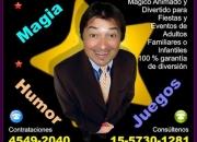 Magia - Mago para Cumpleaños - Te:4549-2040