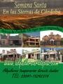 Semana Santa en Villa Carlos Paz y Alrededores. Dueño alquila Casas y cabañas