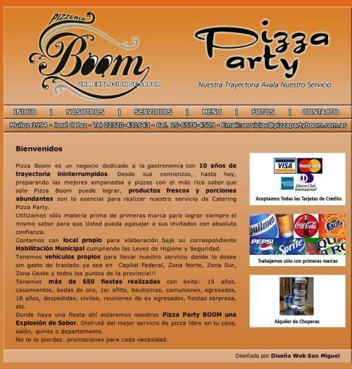 Servicio de pizza party en campana   zona norte   pizza party boom