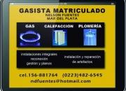 GASISTA MATRICULADO-MdP-156-881764 fijo 482-6545