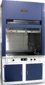campana de extracción para minimizar la exposición a humos, nieblas y vapores en el laboratorio