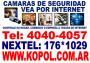CAMARAS DE VIGILANCIA IP - Tel 4040-4057 Nextel 176*3870