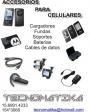 Venta de celulares y accesorios