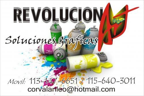 """Soluciones graficas """"revolucionart"""""""