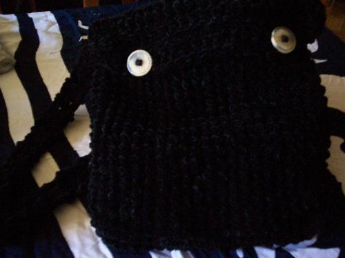Carteras, mitones, bufandas, gorros, etc., tejidos crochet y tricot