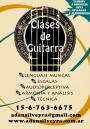 Clases de Guitarra y Teoria Musical en Belgrano