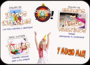 Alquiler de Inflables y Juegos Didácticos Infantiles - ZONA OESTE