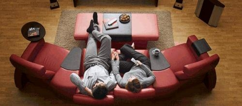 Sillón reclinable home cinema