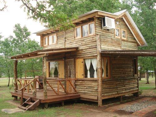 Alquilo cabaña de troncos para 4 personas en nono cordoba