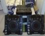 2 PIONEER CDJ 1000MK3 +  DJM 800