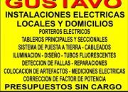 ELECTRICISTA 24 HS ((((155-829-4992))))))