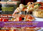 CATERING PASTA PARTY PIZZA PARTY CAZUELA PARTY LOMITO PARTY PARA EVENTOS FIESTAS EN ZONA NORTE ZONA SUR ZONA OESTE CAPITAL FEDERAL