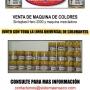 LIQUIDAMOS MAQUINA MEZCLADORA DE COLORES SINTEPLAST