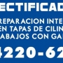 RECTIFICADORA - TAPAS DE CILINDROS - TAPAS ANSO