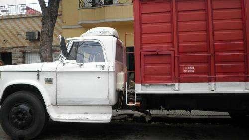 Chofer con camion grande busca trabajo de reparto