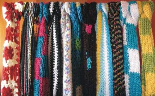 Vendo bufandas tejidas en Jujuy - Ropa y calzado  e81db098dc9