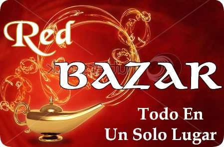 Red bazar - todo en un solo lugar. el shopping online mas completo y exclusivo de internet