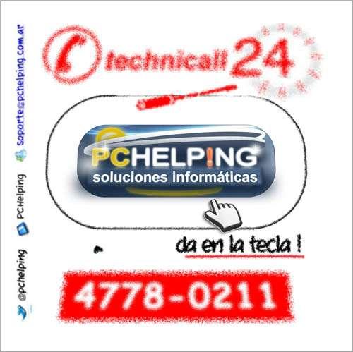 Servicio técnico de pc a domicilio capital federal 4778-0211 24 horas 365 ds technicall24