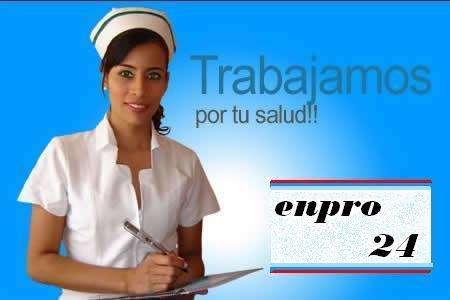 Enfermera /o a domicilio las 24 horas