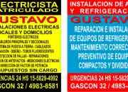 electricista caballito 24 hs(155-8294992//4983-8581))