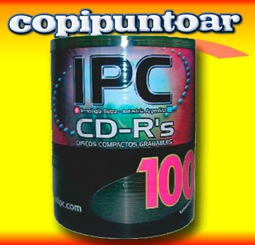 Cds ipc virgenes imprimibles fullprint blancos o perlados