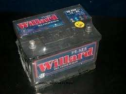 Baterias willard (todos los modelos) asistencia lider s.a