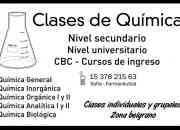 Clases de Quimica Nivel Universitario 15 3782 1563