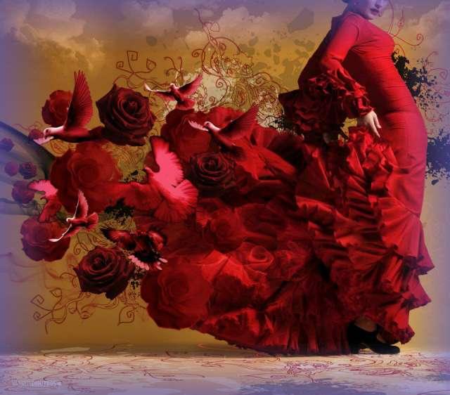 Clases de flamenco con andrea zotta - horarios 2013