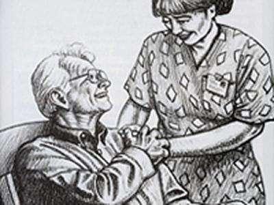 Busco trabajo de cuidadora de ancianos