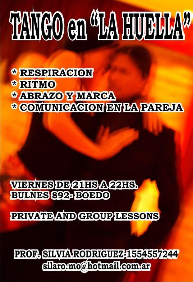 Clases de tango inicial e intermedio todas las edades