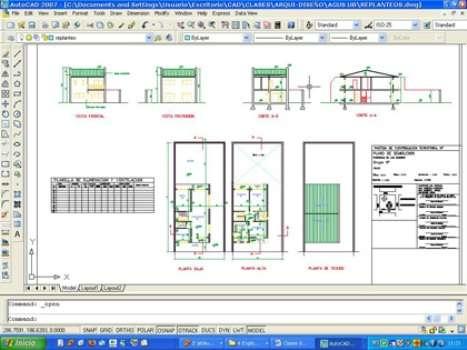 Autocad. clases y cursos con orientación arquitectura y diseño