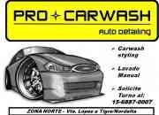 Lavado de autos manual a Domicilio-PRO CARWASH Autodetailing