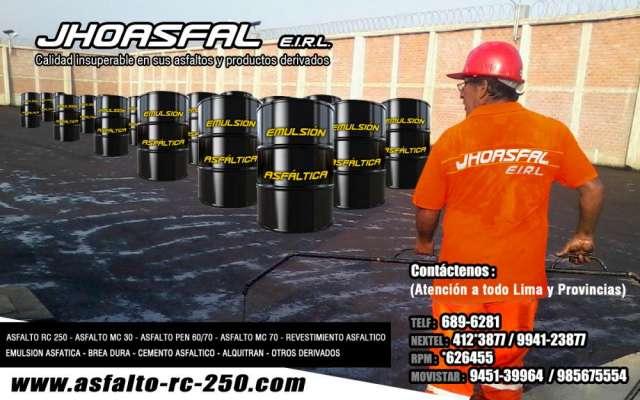 Peru asfaltos jhoasfal e.i.r.l optimo producto