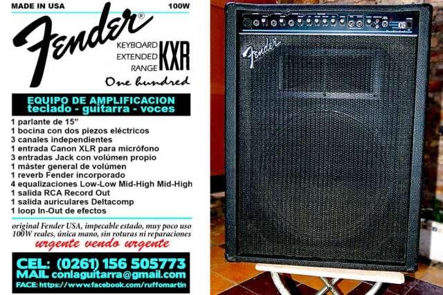 Amplificador fender kxr (original usa)