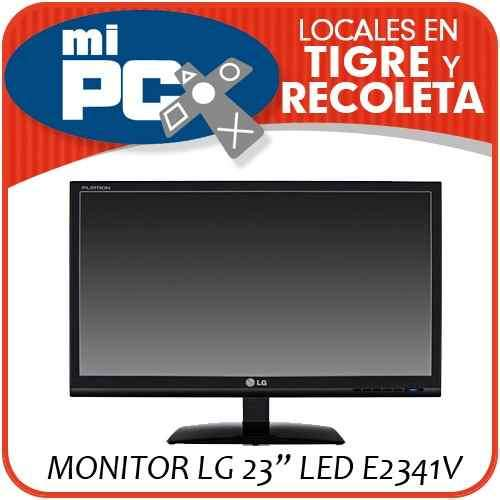 Vendo monitor led 23 lg e2341v full hd 1080p dvi hdmi nuevo modelo