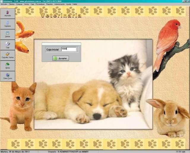 Veterinaria / pet shop - software de gestión comercial