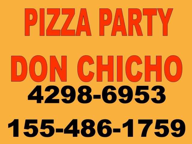 Pizza party servicio de catering