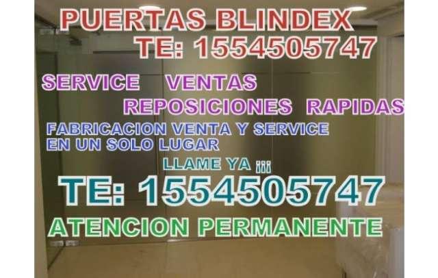 Service blindex te: 15-666-77318 ventas - reposiciones - urgencias yaa¡¡ hoy