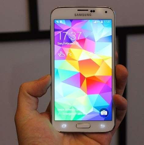 Nuevo iphone 5s 32gb oro en samsung galaxy s5