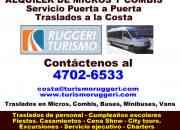 Buses Transporte de Pasajeros en Tigre Llame 4702 6533