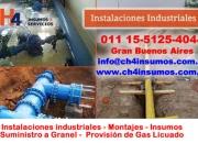 Servicio de insumos industriales zona gral rodriguez  ch4 insumos y servicios