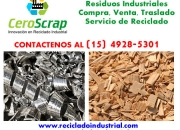 Compro Residuos y Rezagos Industriales compra y venta zona Merlo Contactese 15 4928 5301