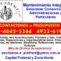 Plomeria y gas en Montserrat Presupuestos al 15 4045 5266  Angel Rubio