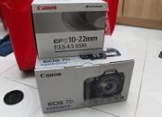 Canon EOS 7D 18 MP CMOS Digital SLR Cámara (sólo el cuerpo) = 7.447 Peso argentino