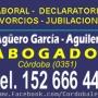 JUBILACION TELEFONO SMS: 152 666 444 - CONSULTA SIN CARGO - ABOGADO EN CORDOBA -PENSIONES,